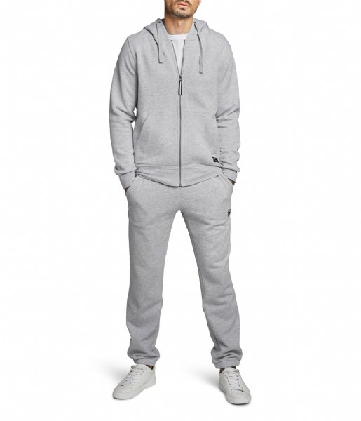 Björn Borg  Zip Hood Centre H108BY light grey melange (90741)