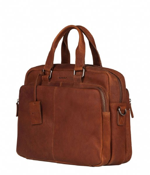 Burkely  Burkely Antique Avery Workbag 15.6 Inch cognac (24)