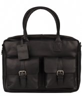 Burkely VINTAGE Finn Worker Laptop Bag 14 Inch black (10)