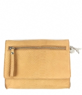 LouLou Essentiels Bag Anaconda camel