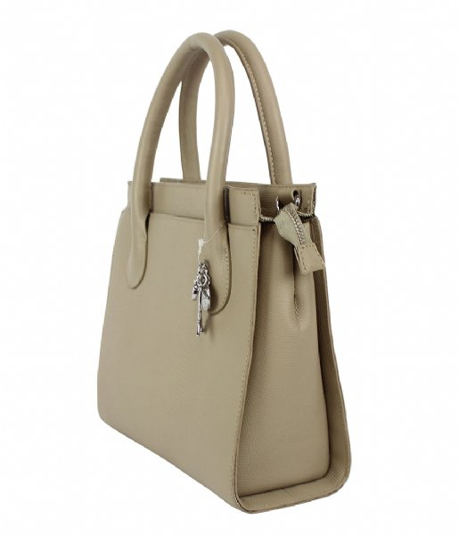 LouLou Essentiels  Bag Medium Lovely Lizard  sand