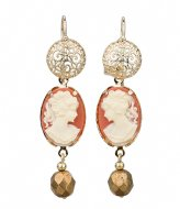 Camps en Camps Filigree Earrings Paars