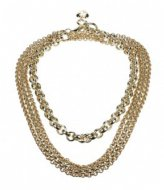Camps en Camps Fashion Chain Long Necklace Paars