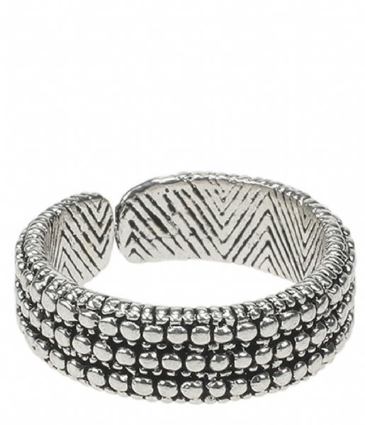 Camps en Camps  Dotted Ring Zilver