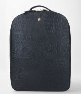 FMME Claire Laptop Backpack Croco 13.3 Inch black (001)