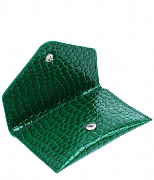 HVISK  Wallet Croco Pine Green (127)