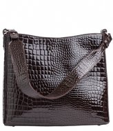 HVISK Amble Croco Dark Brown (115)