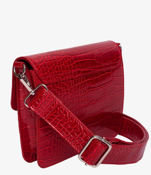 HVISK  Cayman Shiny Strap Bag wine red (066)