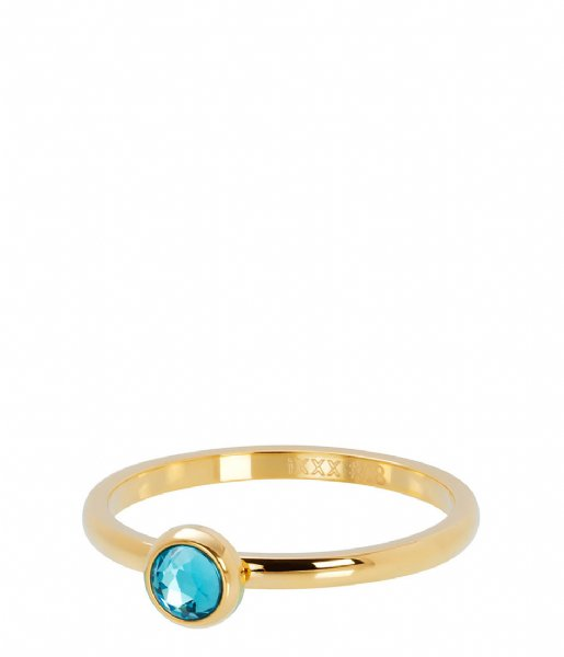 iXXXi  1 Zirconia water blue Gold colored (01)