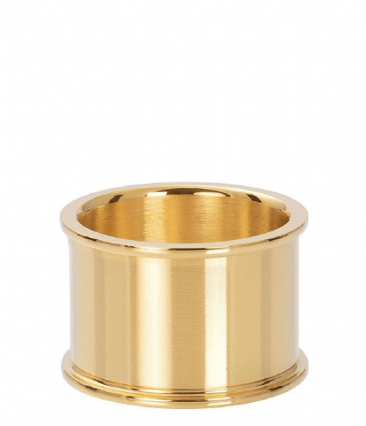 iXXXi  Base ring 14 mm Gold colored (01)