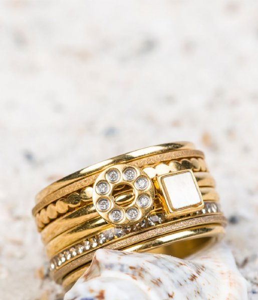 iXXXi  Base ring 12 mm Gold colored (01)