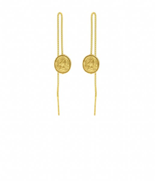 Karma  Karma Pull Through Coin Zilver Goldplated (M2185)