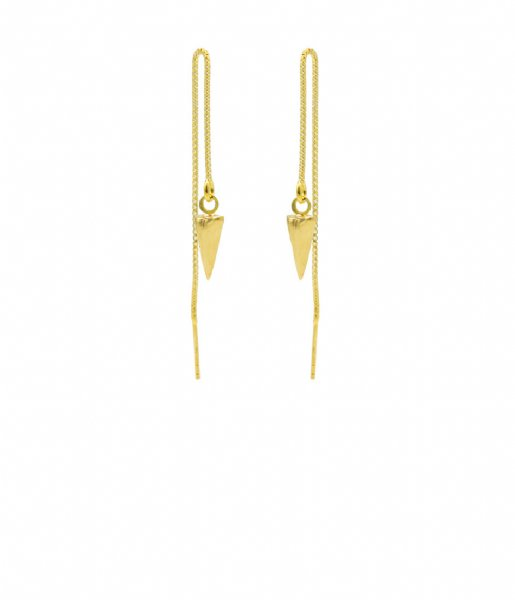 Karma  Karma Pull Through Cone Zilver Goldplated (M3024)