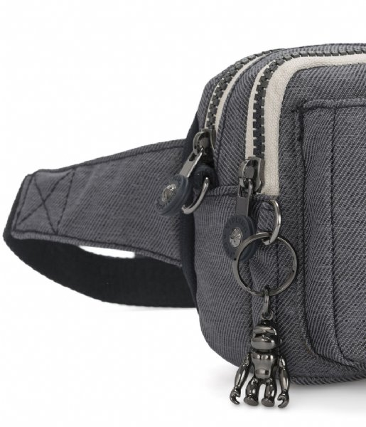 Kipling Hipsack Abanu Multi Small Crossbody charcoal