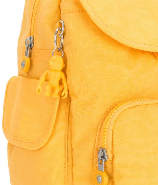 Kipling  City Pack S Vivid Yellow (KPK1563549P1)