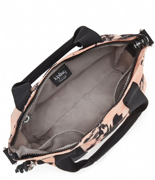 Kipling Shoulder Bags Asseni Mini Print Coral Flower Kpki3420tq91 The Little Green Bag