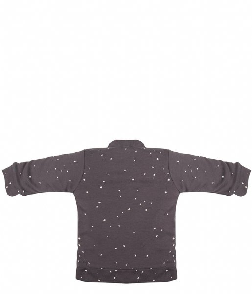 Little Indians  Baby Cardigan Dots Pavement (BC06-PAV)
