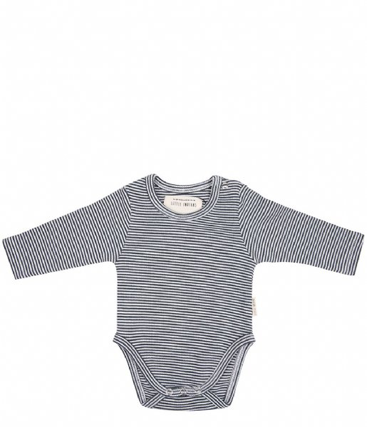 Little Indians  Onesie longsleeve Small Stripe Rib Small Stripe (ONLS11-SS)