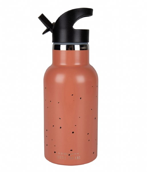 Little Indians  Water Bottle Dots Canyon Clay (WB1901-CC)