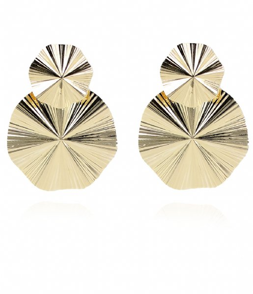 LOTT Gioielli  Classic Earring Curved Gold plated