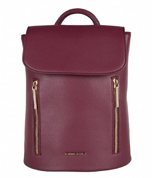 Mister Miara  Ash Backpack Maroon