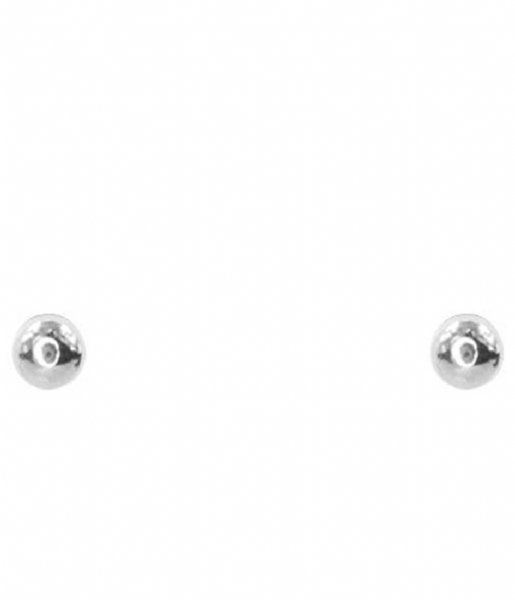 My Jewellery  Small Stud Dot silver colored (1500)