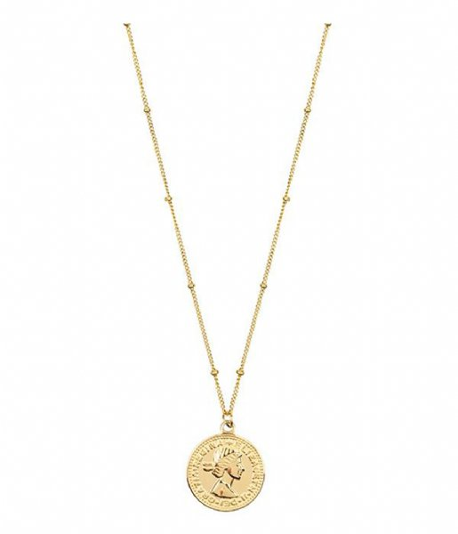 My Jewellery  Necklace Coin Elizabeth goudkleurig (1200)