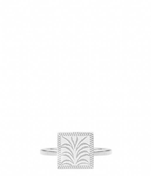 My Jewellery  Charm Ring Plant silver colored (1500)
