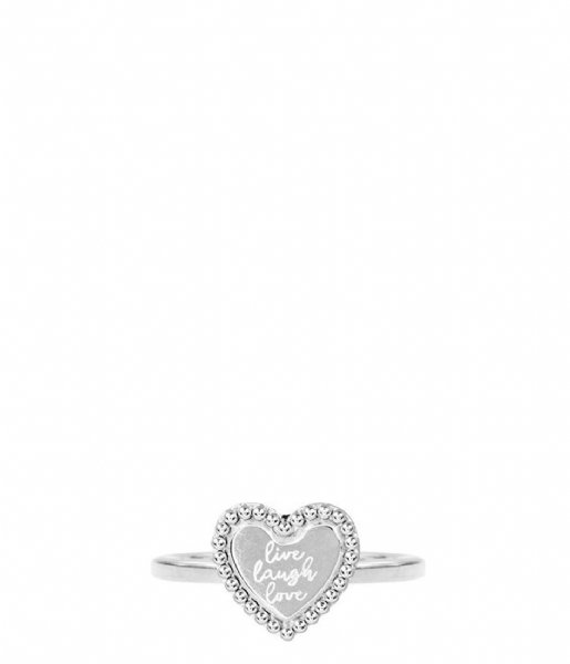 My Jewellery  Charm Ring Live Laugh Love silver (1500)