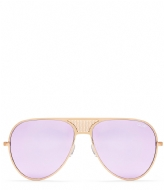 Quay Australia Iconic QUAYXKYLIE gold colored purple