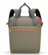 Reisenthel Allrounder R Shoulder Bag 15 Inch olive green (JR5043)