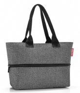 Reisenthel Shopper E1 twist silver (RJ7052)