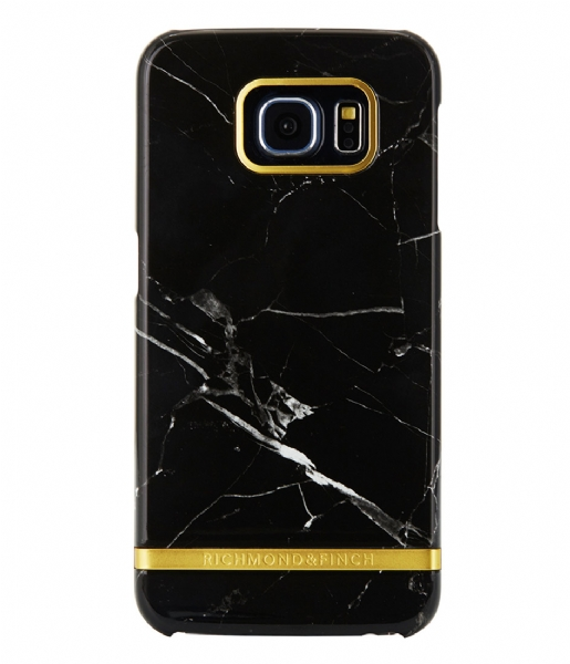 Richmond & Finch  Samsung Galaxy S6 Edge Marble Glossy black marble (12)