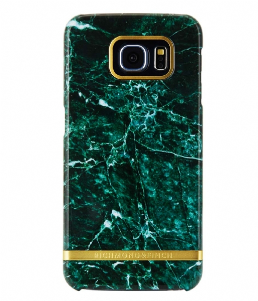 Richmond & Finch  Samsung Galaxy S6 Edge Marble Glossy green marble (10)