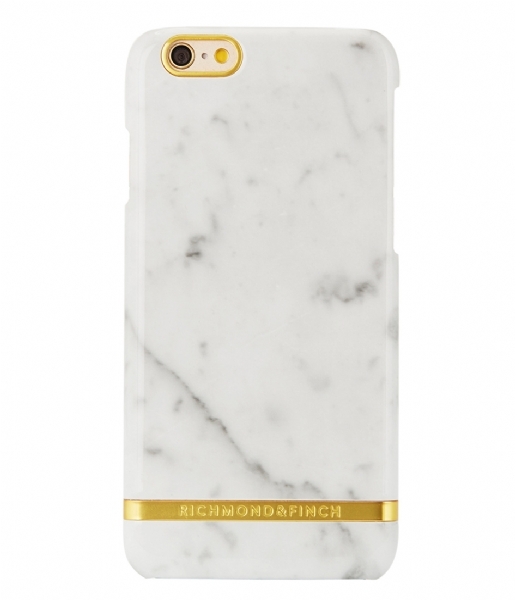 Richmond & Finch  iPhone 6 Plus Cover Marble Glossy white marble (0144)