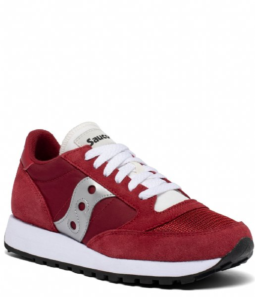 Saucony  Jazz Original Vintage Red white silver (157)