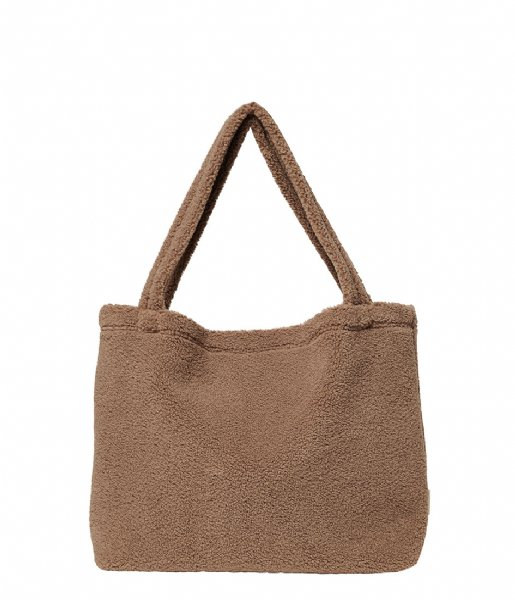Studio Noos  Brown Chunky Teddy Mom Bag brown chunky teddy