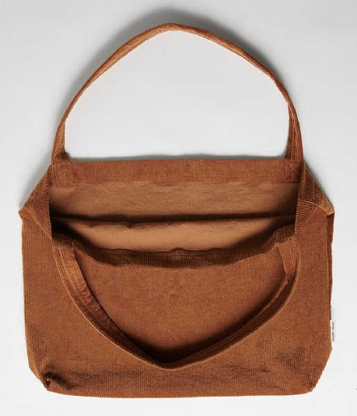 Studio Noos  Rib Mom Bag brown-ie