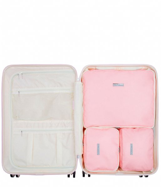 SUITSUIT  Fifties Packing Cube Set 24 Inch pink dust (26816)