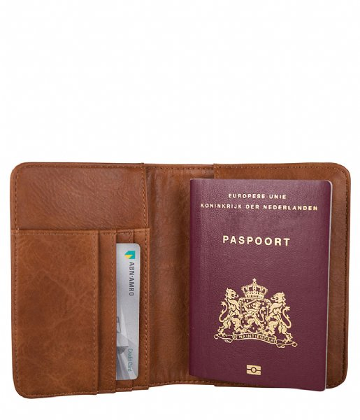 SUITSUIT  Fab Seventies Passport Holder Burned Caramel (71106)