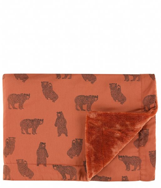 Trixie  Fleece blanket , 75 x 100 cm - Brave Bear Print