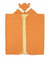 Trixie Hooded towel , 70x130cm - Mr. Fox Orange