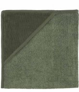 Trixie Hooded towel - Ribble Moss Khaki