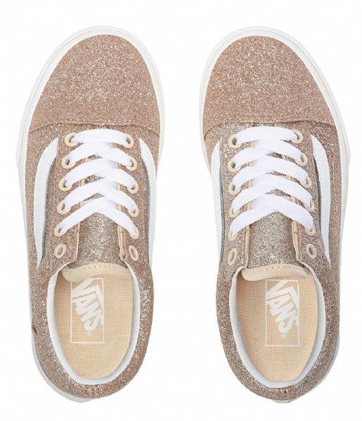 Vans  Old Skool Glitter Brazln Sand true white