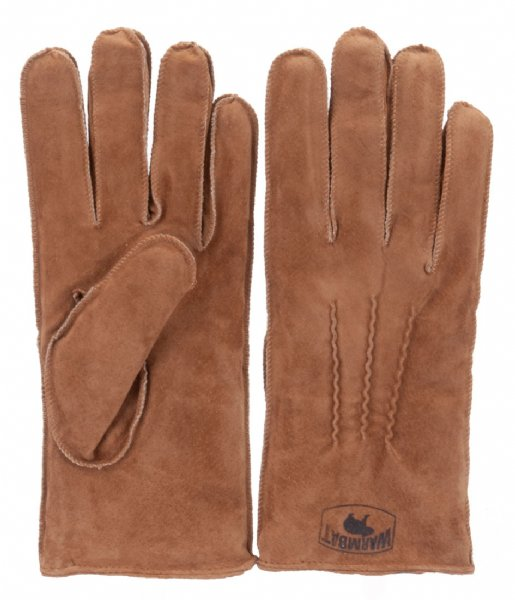 Warmbat  Gloves Women Suede Cognac (GLO301025 )